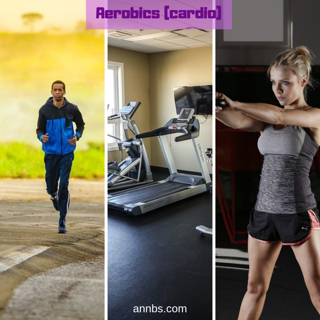 Different forms of Aerobic (cardio)