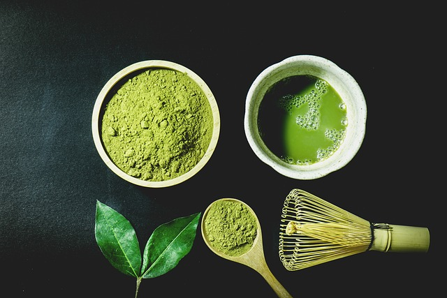 Stone-ground Matcha tea powder