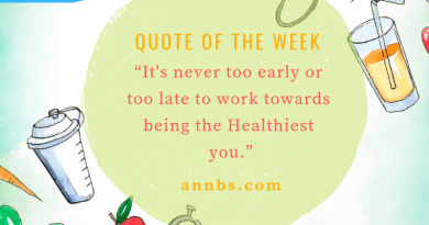 It's never too early or too late to work towards being the Healthiest you.